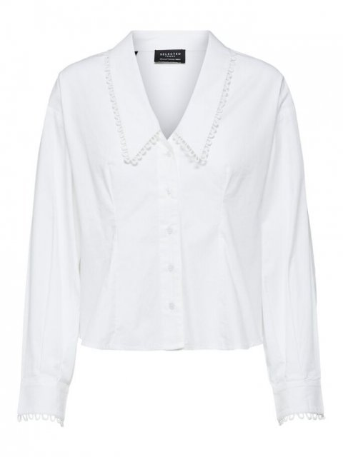 SELECTED FEMME Blouse Romance Bright White | Artikelnummer: 16076921 br.white