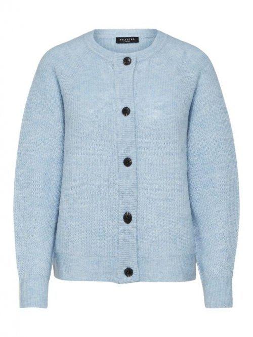 SELECTED FEMME Vest Lulu Cashmere Blue | Artikelnummer:16074481 blue