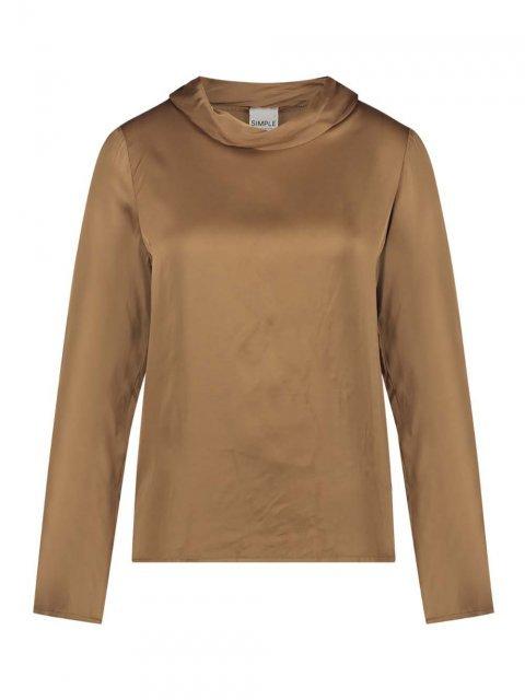 SIMPLE Shirt Xario Mid Brown | Artikelnummer:xario midbrown