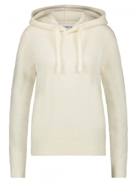 SIMPLE Sweater Batul Ivory | Artikelnummer: batul ivory