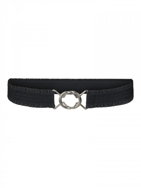 CO'COUTURE Riem Elastic Frill Black