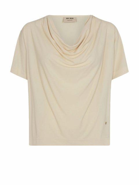 MOS MOSH T-shirt Savina Ecru | Artikelnummer:136370 180