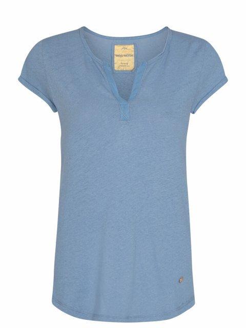 MOS MOSH T-shirt Troy Bel Air Blue | Artikelnummer:117440 477