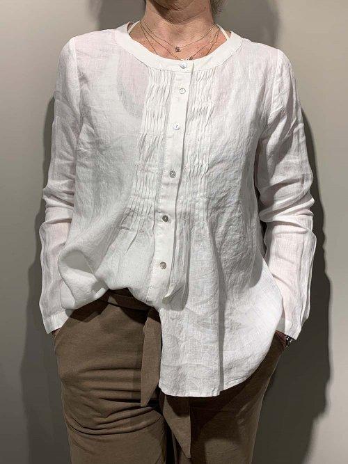 JC SOPHIE Blouse Gray Offwhite | Artikelnummer:gray.9057 101