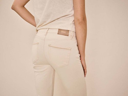 MOS MOSH Broek Ashley Cream | Artikelnummer: 137300 180