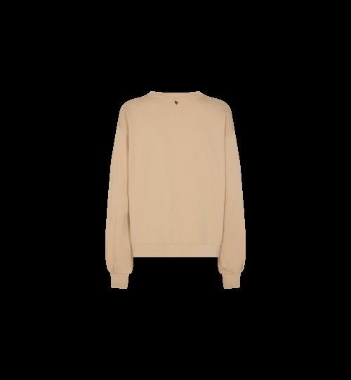 MOS MOSH Sweater Zanna Cuban Sand   Artikelnummer:136440 110
