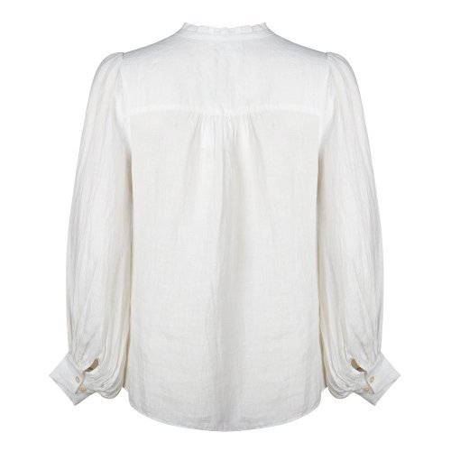 RUBY TUESDAY Blouse Isara Broderie Bright White | Artikelnummer:T102.1126 2