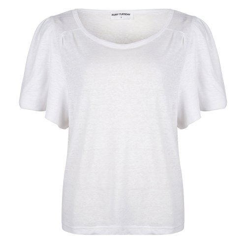 RUBY TUESDAY Shirt Tosca Linnen Bright White | Artikelnummer:T102.1421 2