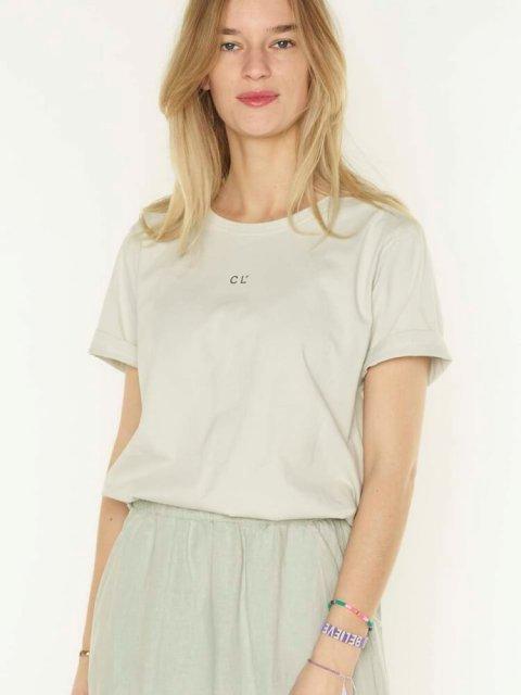 CLUB L'AVENIR T-shirt Flore Light Sage | Artikelnummer:1052304 34