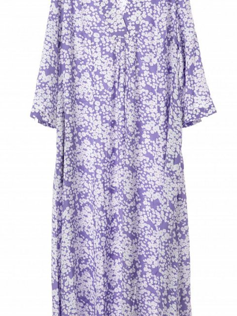 JC SOPHIE Jurk Hilde Lavender print | Artikelnummer:H1041 421