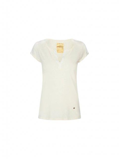 MOS MOSH T-shirt Troy Ecru | Artikelnummer:117440.S21180