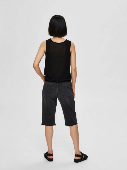 SELECTED FEMME Top Moon Knitted Black | Artikelnummer:16073273.s21 black