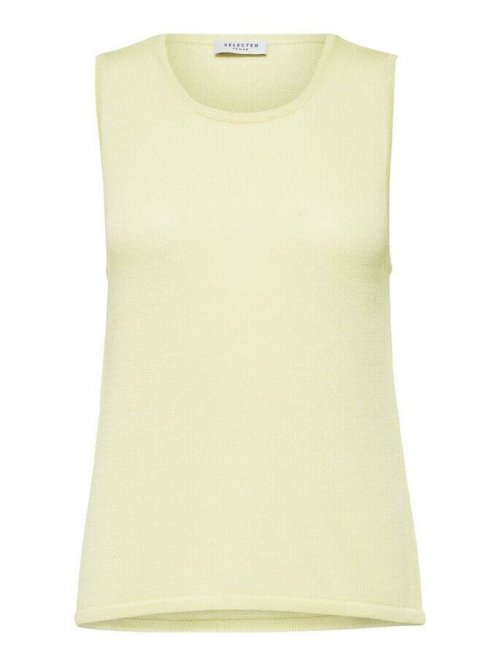SELECTED FEMME Top Moon Knitted Young Wheat   Artikelnummer:16073273 youngwheat