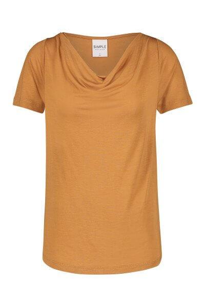 SIMPLE Shirt Fleur Roasted Peacan | Artikelnummer:fleur pecan