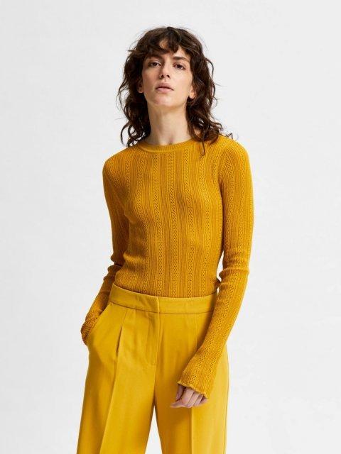 SELECTED FEMME Shirt Knit Donnay Arrowwood | Artikelnummer:16079841 arrowwood