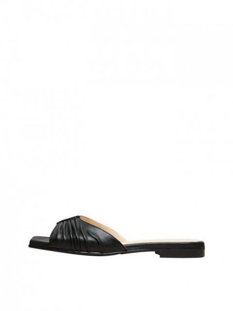 SELECTED FEMME Slipper Malle Leather Black | Artikelnummer:16078812 black