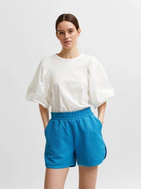 SELECTED FEMME T-shirt Adrianna Snow White   Artikelnummer:16079103 snow white