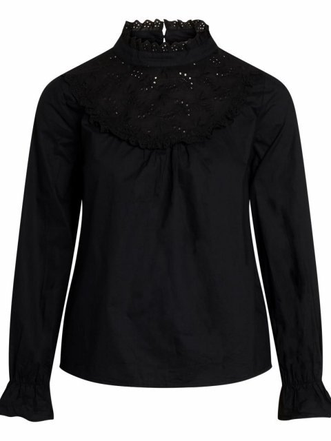 CO'COUTURE Blouse Arly Anglaise Black   Artikelnummer:95735 96