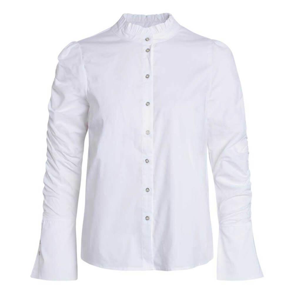 CO'COUTURE Blouse Sandy Elastic Sleeve White | Artikelnummer:95749 4000