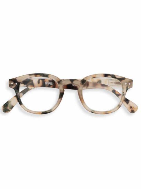 IZIPIZI IZIPIZI Leesbril Model C Light Tortoise | Artikelnummer:#C Light Tortoise