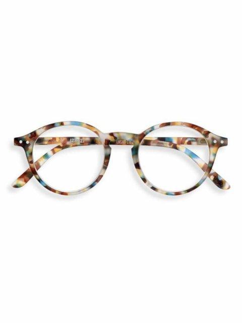 IZIPIZI IZIPIZI Leesbril Model D Blue Tortoise | Artikelnummer:#D Blue Tortoise