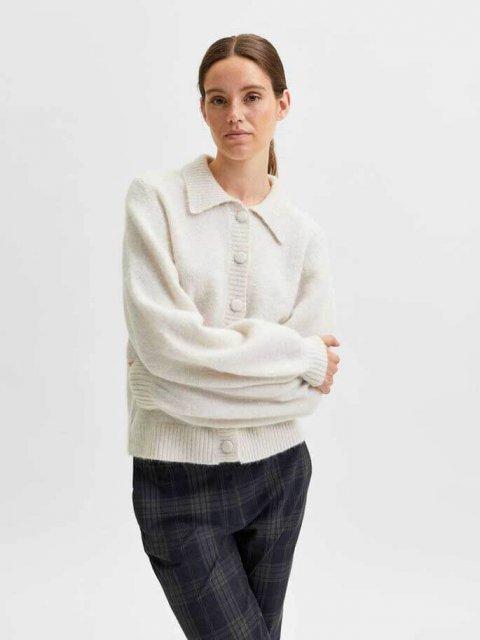 SELECTED FEMME Vest Louisa Snow White | Artikelnummer:16080498 snow white